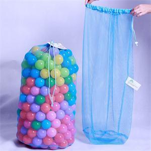 SHNGki alta calidad portátil niños bola Bolsa de red de almacenamiento organizador de juguetes multiusos