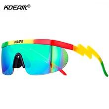 Riff Raff der Übergroßen Sonnenbrille Männer 100% UV Schutz Sonnenbrille Frauen Blockieren Winddicht Sonnenbrille Mit Erdnuss Box