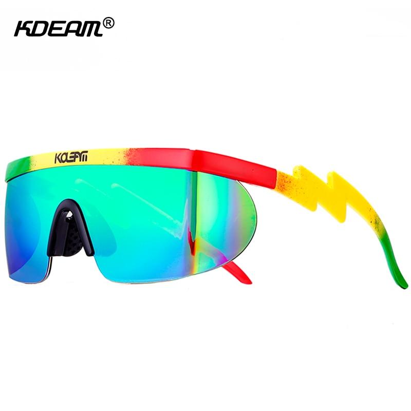 Riff Raff's Oversized Sunglasses Men 100%UV Protection Sun Glasses Women Blocking Windproof Sunglass With Peanut Box