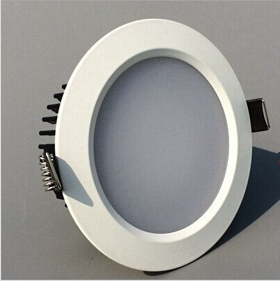 ¡Venta directa de fábrica! carcasa blanca antiniebla 12W regulable luz Led empotrable de techo cálido/blanco puro/blanco frío Led empotrado lámpara de techo