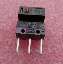 20 pièces/lot original HUANO longue broche (7.8mm) souris micro interrupteur argent contacts souris bouton longue durée de vie
