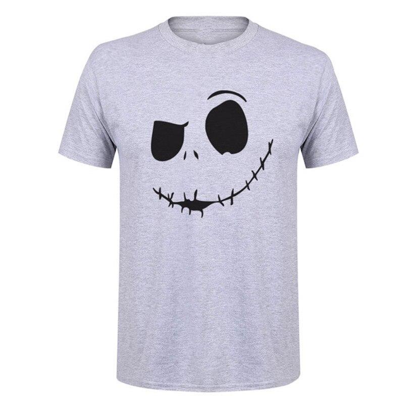 Мужская футболка в стиле хип-хоп, с героями мультфильмов «кошмаром перед Рождеством»