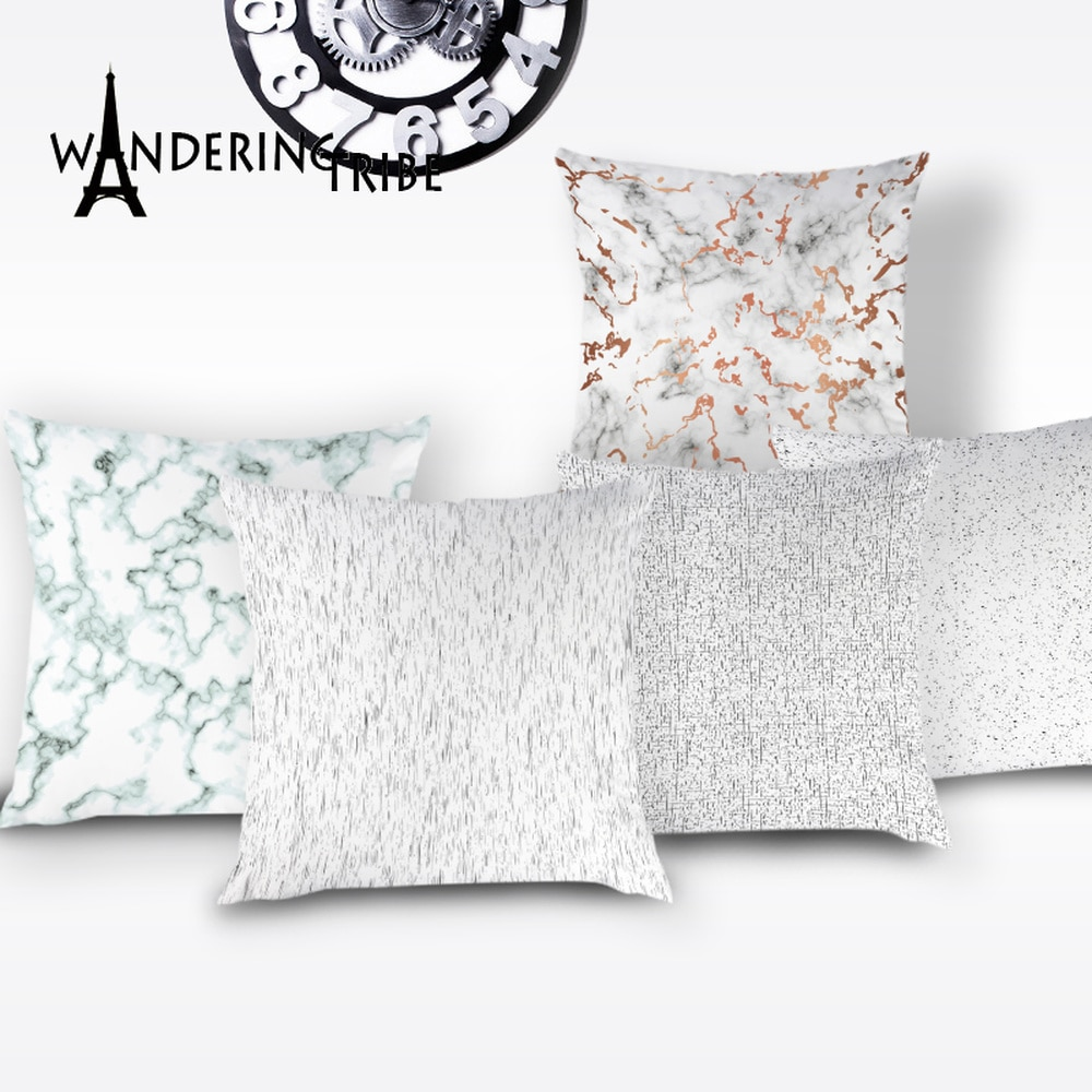 Retro Scandinavian Throw Pillow Nordic Boho Cushion Cover Stripe Abstract Home Decorative Cushion Case Pillows Line Cases Covers