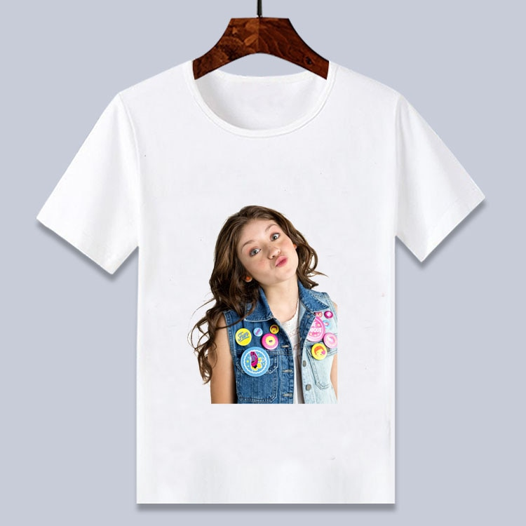 soy luna  3D T -Shirt Cartoon Printed Tee  Shirts white short t shirt for boys/ girls