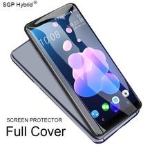 Verre de protection complet pour HTC U verre Ultra trempé pour HTC U12 Life U11 Plus U Play Uultra U12life U12plus 9H protecteur