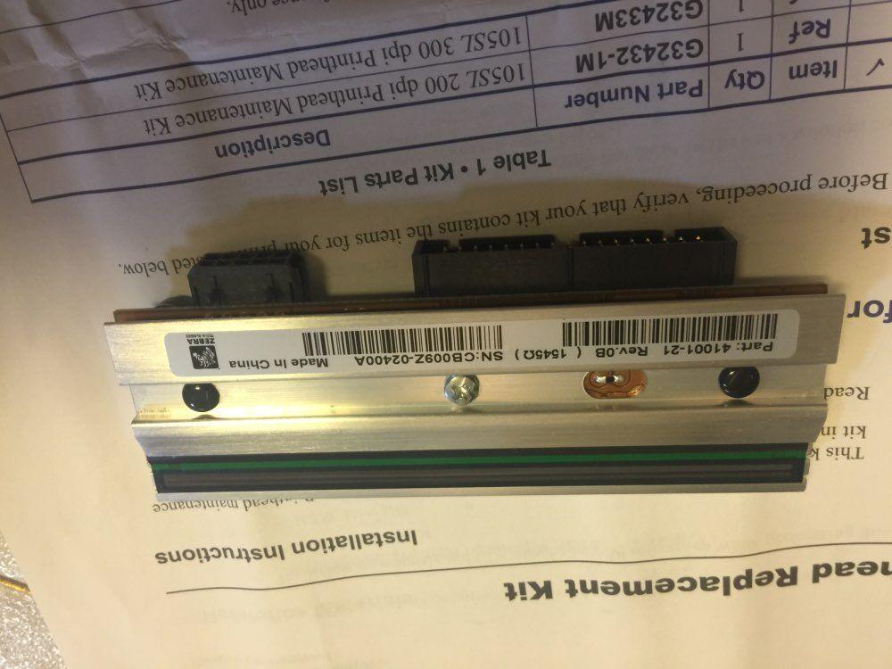 رأس طباعة حمار وحشي متوافق مع OEM G32433M L, 105SL (100% ديسيبل متوحد الخواص) ، 300