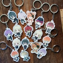 Portachiavi DIABOLIK amoureux Komori Yui Ayato Kanato Laito Azusa Shu acrylique porte-clés pendentif porte-clés Anime