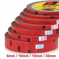 2pcs lot strong permanent 3m double sided acrylic foam adhesive tape versatile car auto truck craft 6mm 10mm 20mm