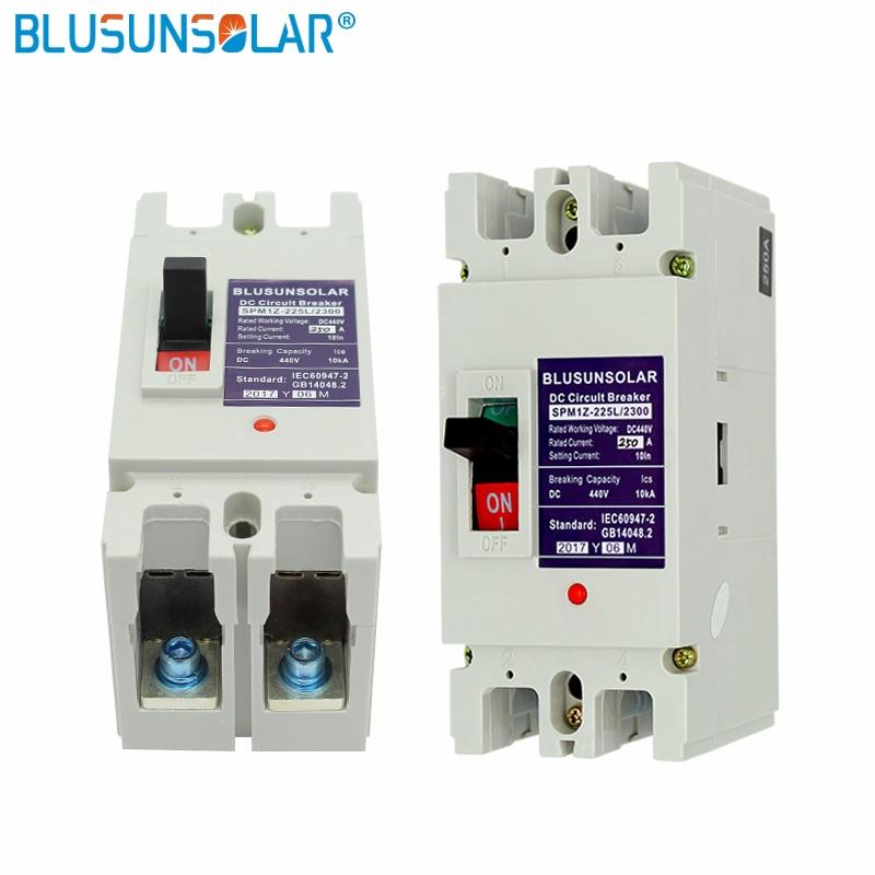 1 قطعة/الوحدة 2P 250A DC440V MCB الطاقة الشمسية الكهروضوئية PV مصبوب حالة DC قواطع TF0182