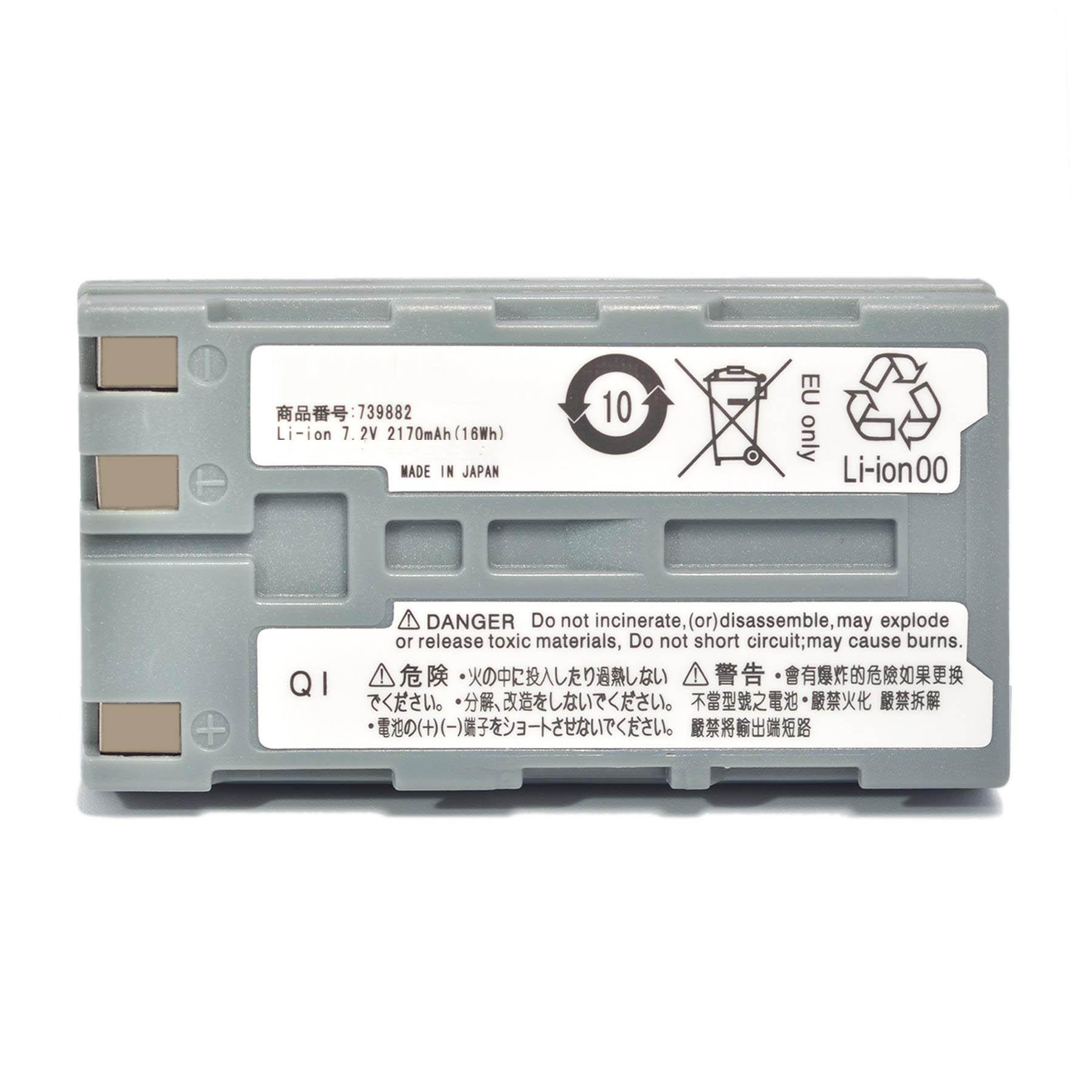 Mejor 2600mAH nueva OTDR batería para Yokogawa AQ1200 AQ1200B AQ1200C AQ1200E AQ1205A AQ1205E AQ1205F IM-AQ1200-02EN 739882