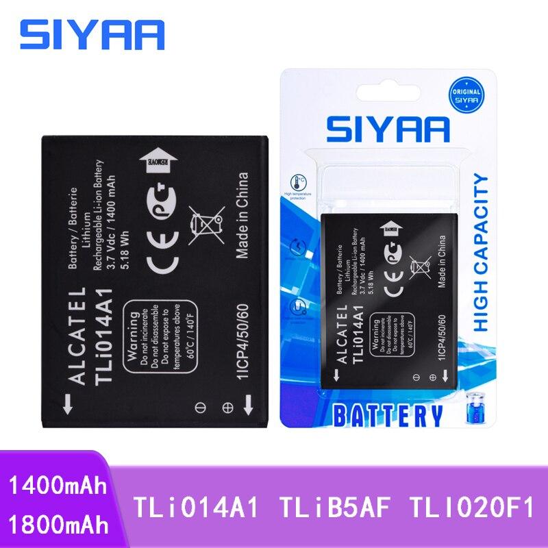 SIYAA de la batería del teléfono TLi014A1 TLiB5AF TLI020F1 para Alcatel One Touch Fire 4012 4012A 4012X M'Pop 5020 5020D CAB31P0000C1 C7 7040