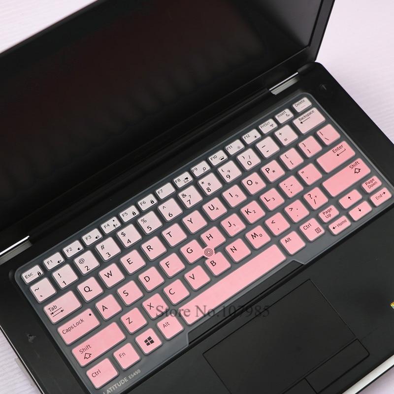 Силиконовый защитный чехол для ноутбука Dell Latitude 14 5480 5490 7490 14 3340 E3340 E5490 E5491 E5450 E7450 E7470 7480 E7480