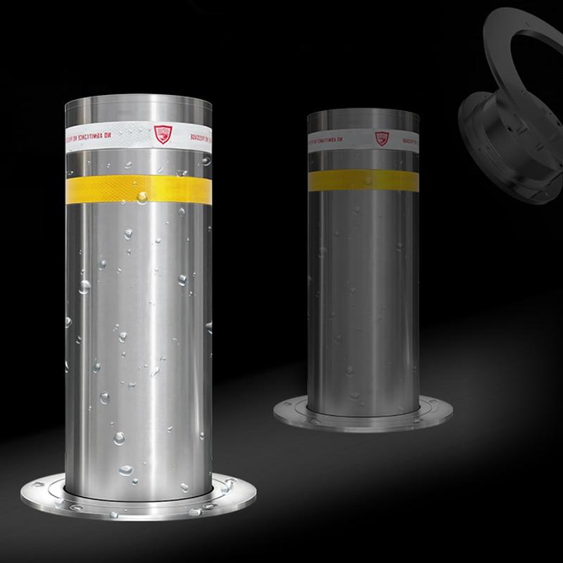 نوع جديد وقوف السيارات ارتفاع التلقائي الفولاذ المقاوم للصدأ عاكس هيدروليكي بولارد 1 موتور/قطعة المضادة للتصادم قفل وقوف السيارات
