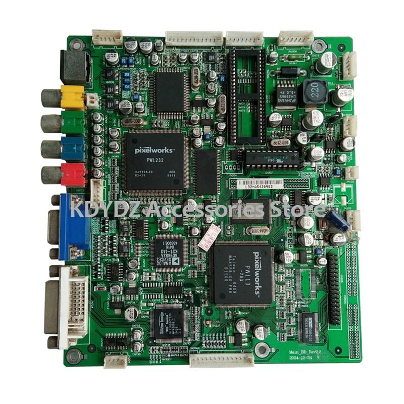 Frete grátis bom teste para L37V6-A8K placa-mãe Main-BD-Rev2.2 com tela lc370w01 a6