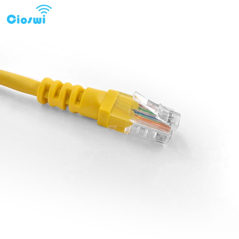 Cioswi alta velocidad CAT.5E UTP Gigabit Ethernet Cable para ordenador Internet Lan 1M RJ45 Cable de red de PVC par trenzado