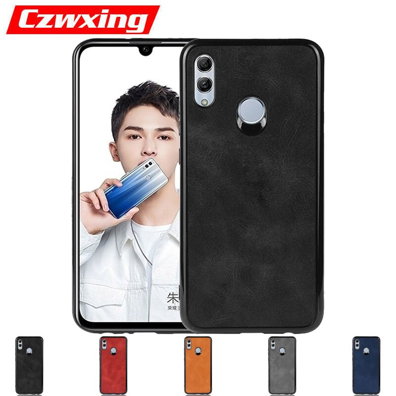 Huawei P 2019 Inteligente Caso Silicone TPU Telefone Caso Capa de Couro Em Para Huawei P 2019 Inteligente POT-LX1 POT-LX3 PSmart caso Smart2019