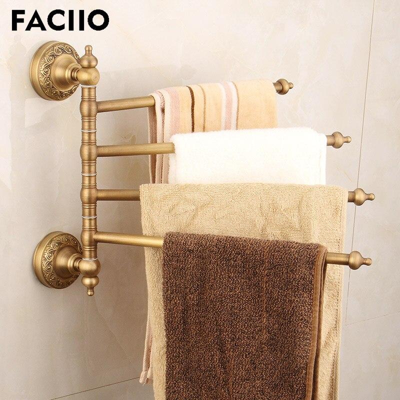 FACIIO 2019 nuevo estilo europeo montado en la pared Hardware baño toalla...