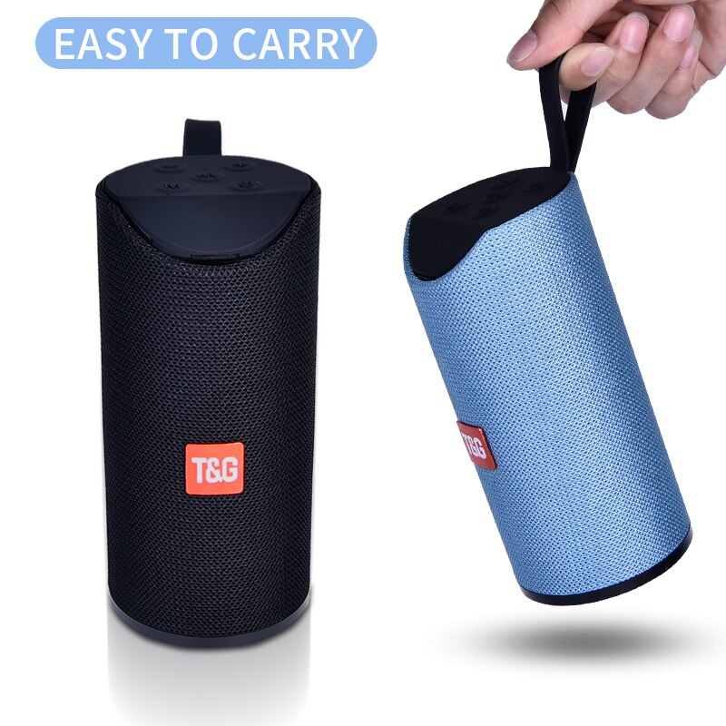 TG Bluetooth Lautsprecher Tragbare Outdoor Lautsprecher Wireless Mini Spalte 3D 10W Stereo Musik Surround Unterstützung FM TFCard Bass Box