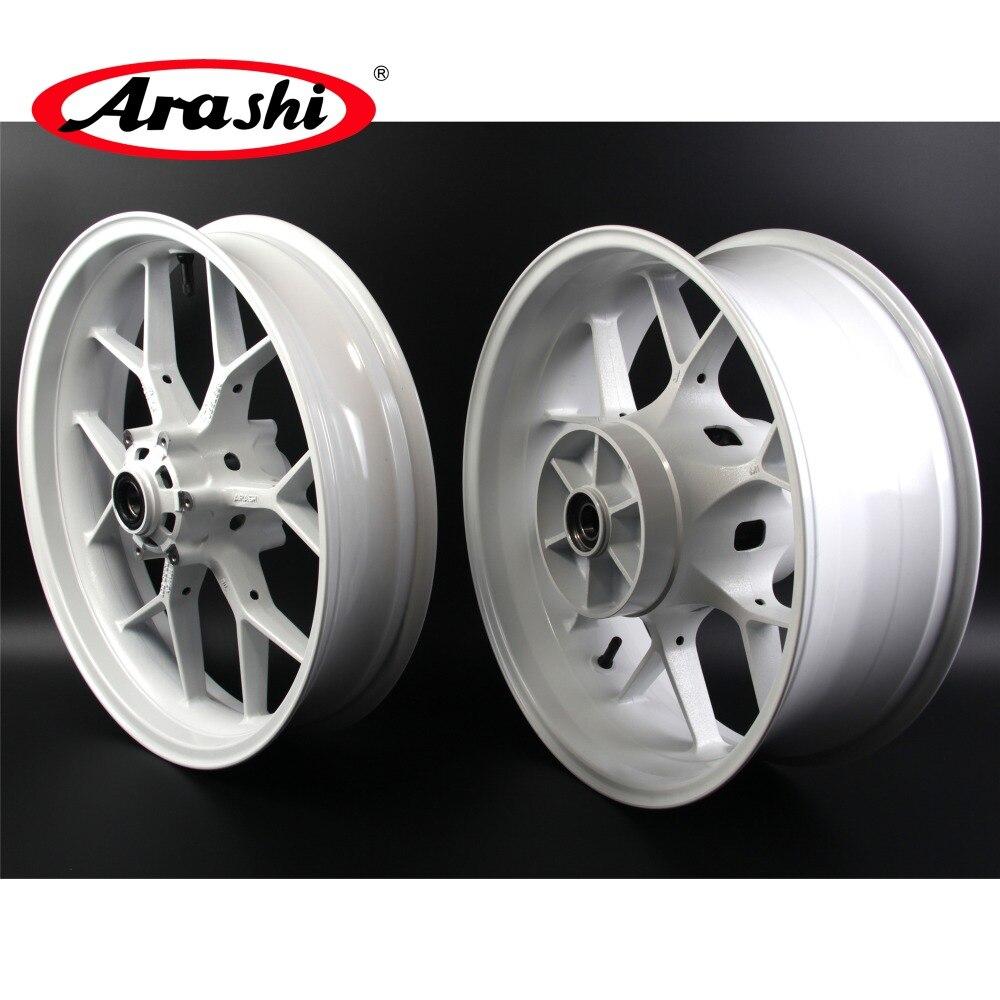 Arashi 1 Set frente rueda trasera llantas para HONDA CBR600RR 2007-2017 CBR 600 RR CBR600 600RR 2007, 2008, 2009, 2010, 2011, 2012, 2013, 2014