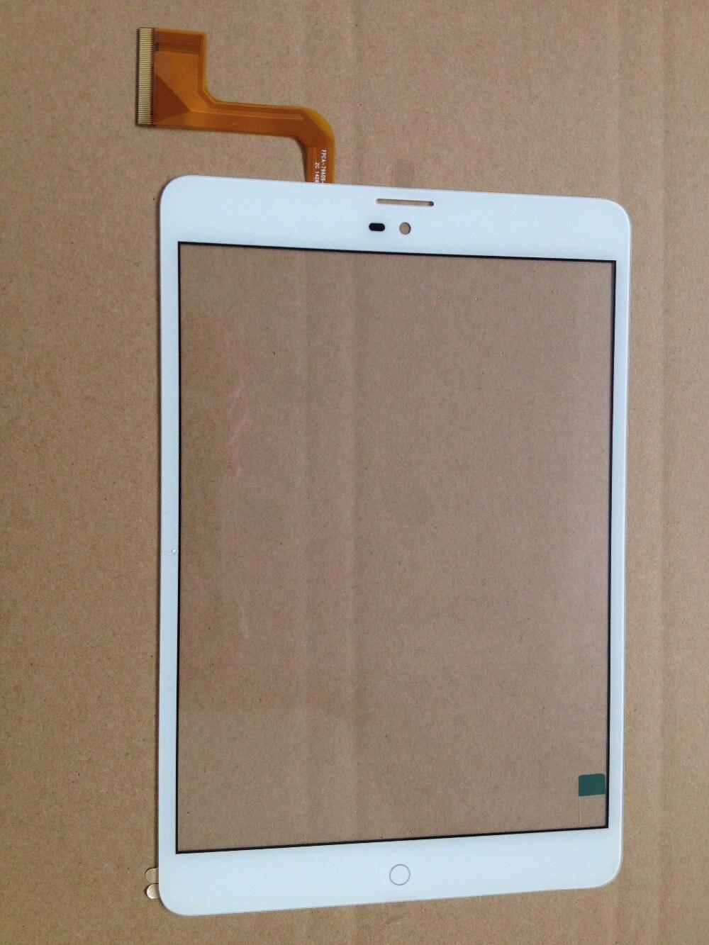 7,85 original nueva tableta pc ZTE E8Q + sensor de cristal de pantalla táctil
