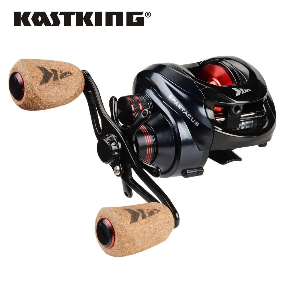 KastKing Spartacus Plus Soft Cork Handle Baitcasting Fishing Reel  8KG Max Drag 11+1 BBs 6.3:1 High Speed Fishing Wheel