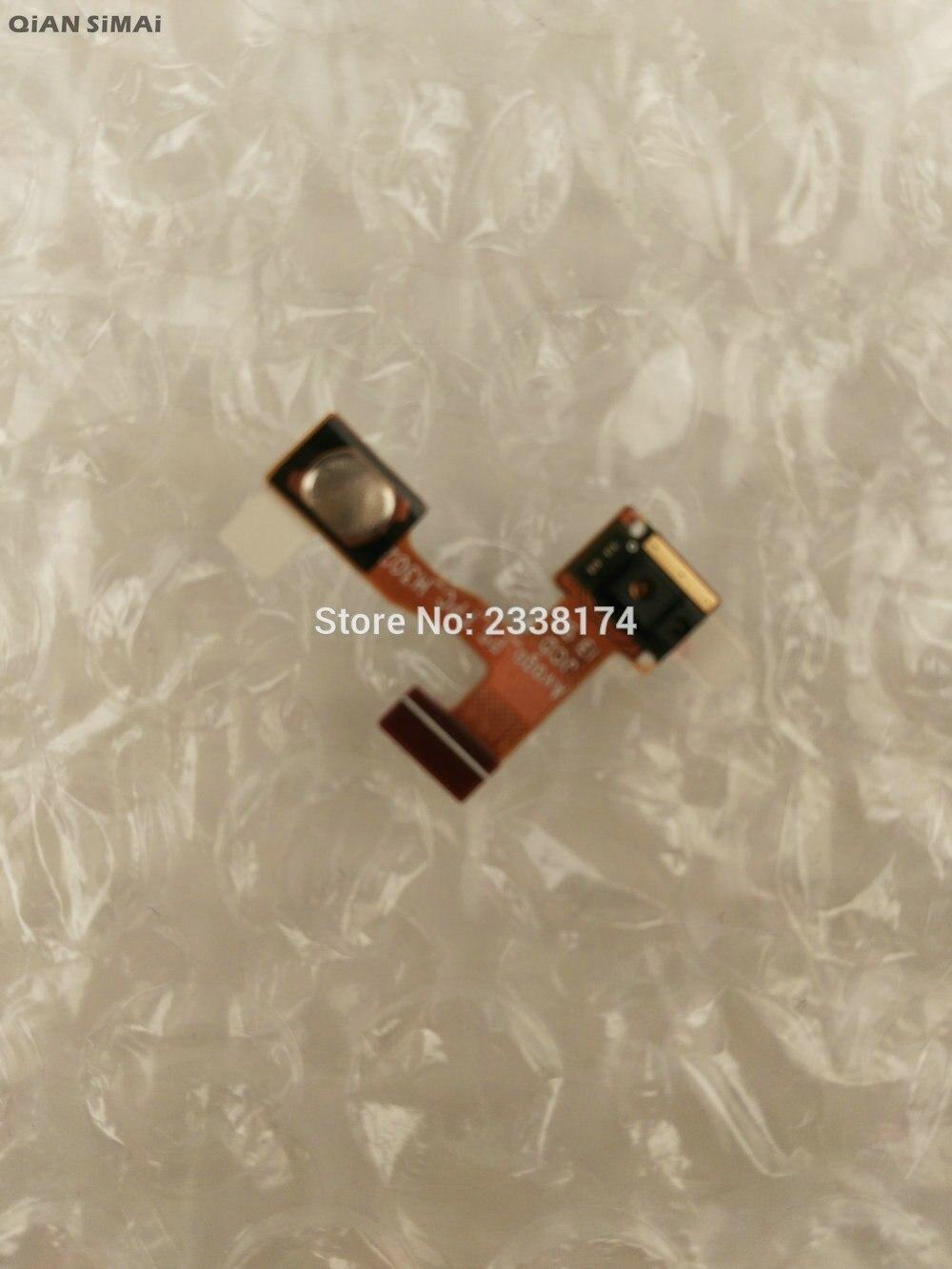 QiAN SiMAi para Lenovo A850 nuevo botón de encendido/apagado Original Cable flexible piezas de reparación + envío gratis