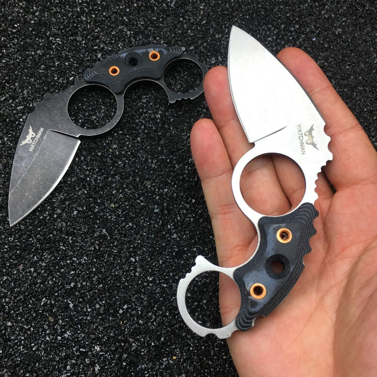 Watchman Claw Karambits Fixed Blade  Neck Knife Tactical Hunting High Quality  Survival EDC Tool Collection Factory sale MH187-B 2017 hot sale sale made in japan bell knife blade for model skiving machine best seller with high quality nippy 301a knife blade