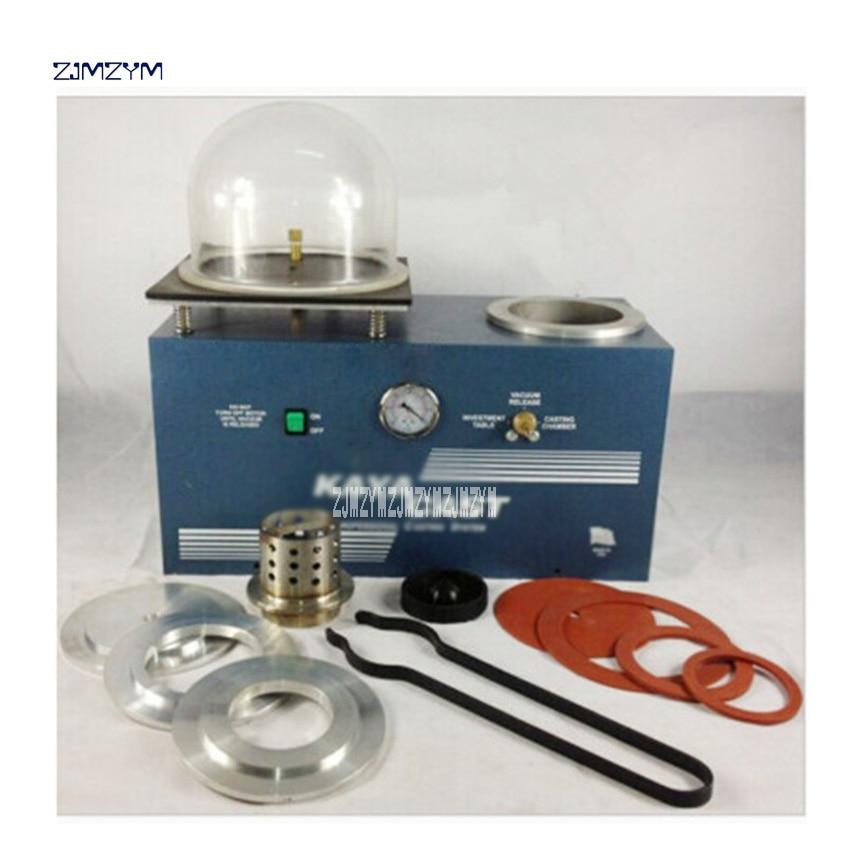 4L Conjoined Casting Machine Pumping Vacuum Casting Machine Jewelery Gypsum Mold Casting Equipment Machinery 110V / 220V 1000W