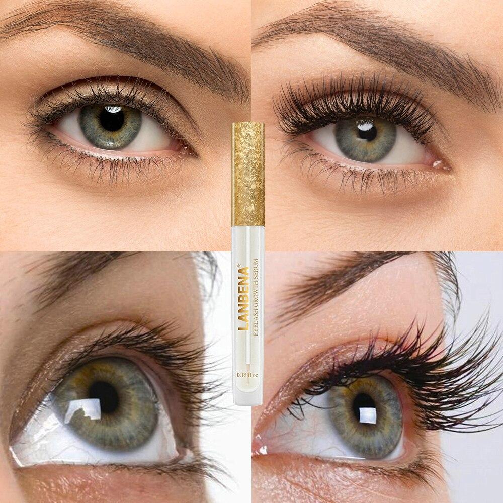 Lanbena cílios soro tratamentos de crescimento de cílios soro enhancer cílios alongamento mais grossos cílios levantamento cuidados com os olhos