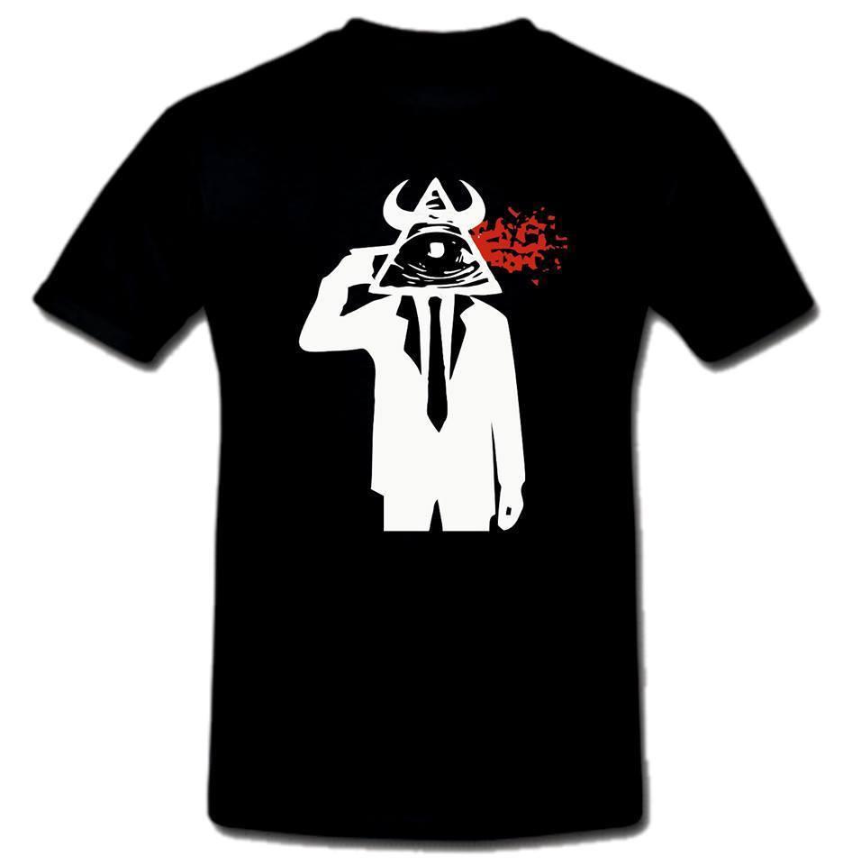 KILLUMINATI Illuminati Killers T shirt anti NWO Loose Cotton T-Shirts For Men Cool Tops T Shirts Print Tshirt Summer Short
