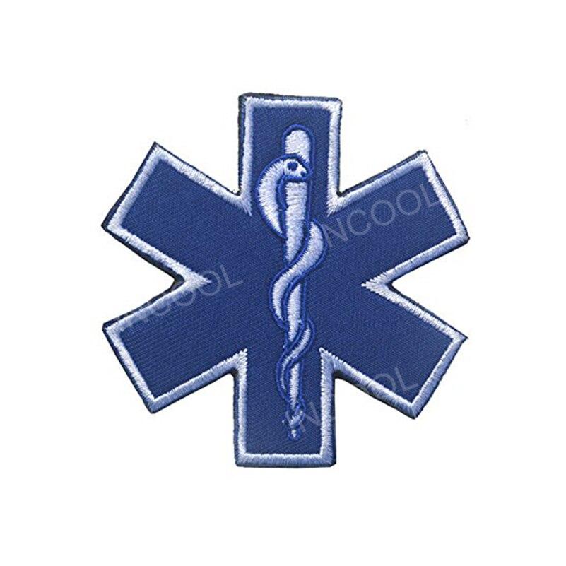 3D Medic Rettungssanitäter Stickerei Patch Medizinische Notfall US Army Patch Moral Patch Taktische Emblem Applikationen Bestickt Abzeichen