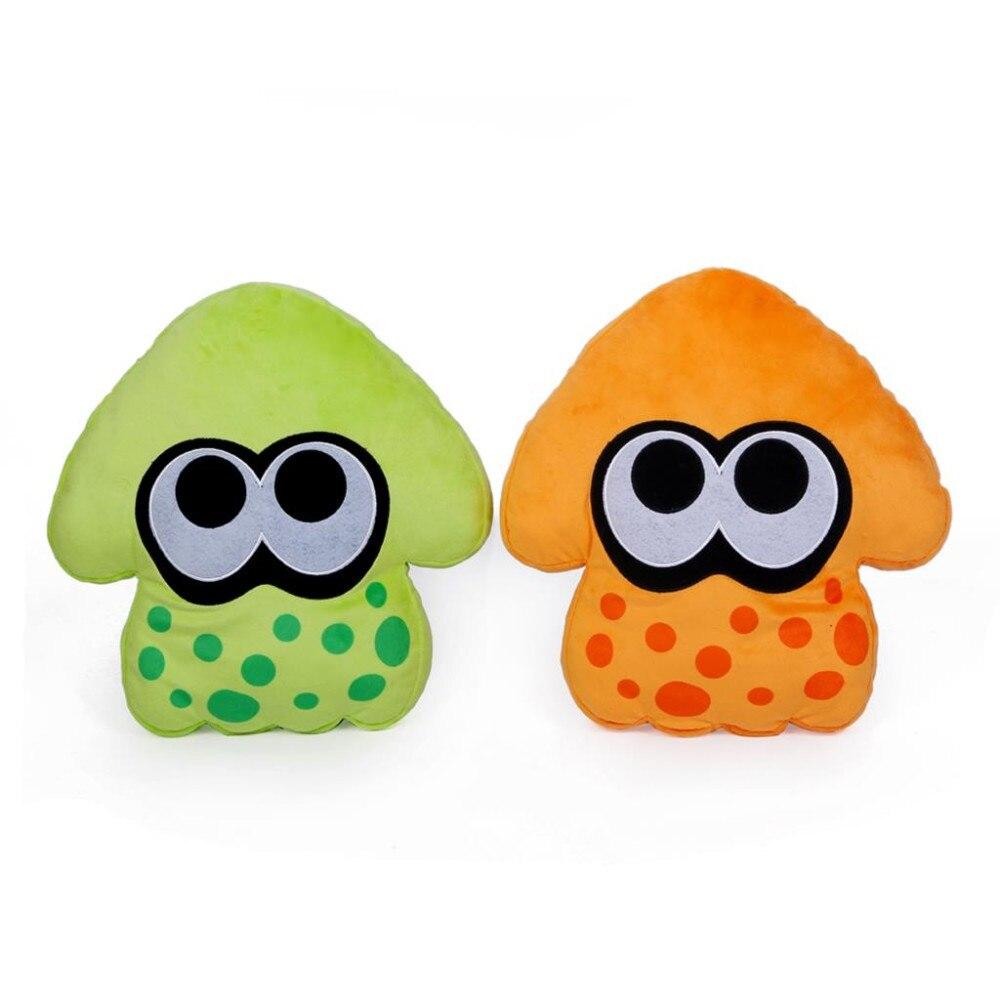 2pcs/set 35cm 2 Colors Splatoon Squid Plush Toy Stuffed Dolls Kids Gift
