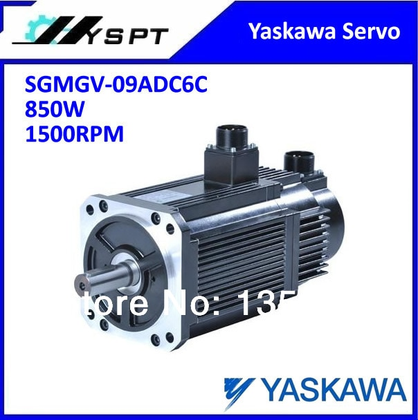 Nuevo motor de servomotor Yaskawa original SGMGV-09ADC6C 850W1500RPM 5.39N.m con freno