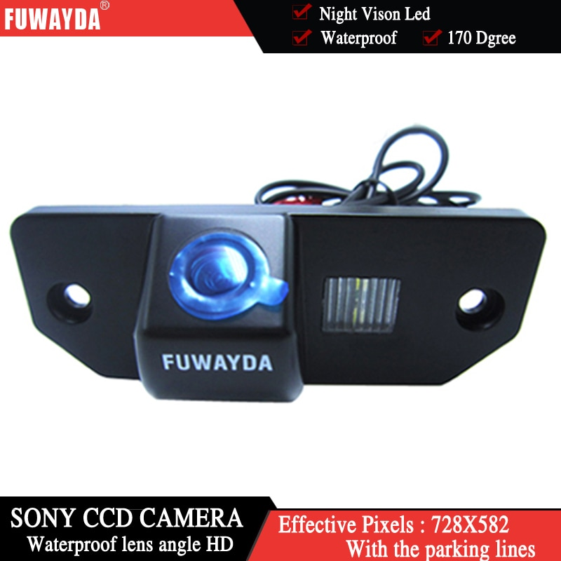Камера заднего вида FUWAYDA SONY CCD HD для FORD FOCUS SEDAN (3 коляски) Ford C-max MONDEO