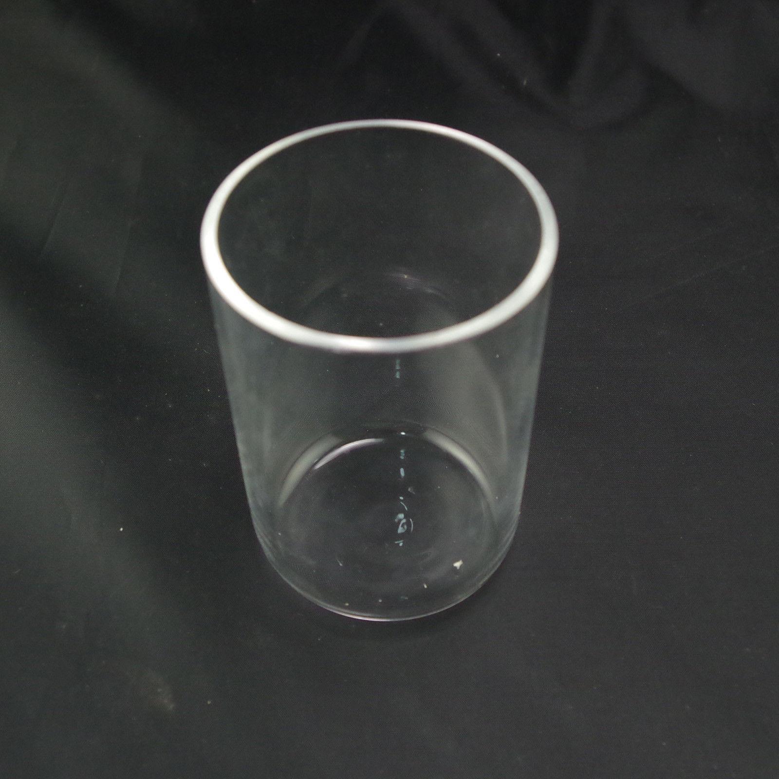 100ml Quartz Crucible 99.9% SiO2 Silica Crucible 2mm Thickness Melting Point 1750 Degree C