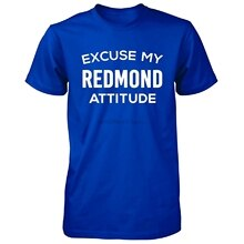 Camiseta para hombre, Excuse mi actitud de Redmond City. Regalo genial-Camiseta Unisex