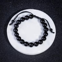 fashion new product explosions hot 2019 new charm mens obsidian crystal hand woven accessories bracelet