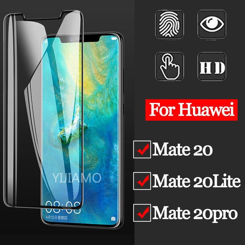 Vidrio Templado 3D para Huawei Mate 20 Pro Protector de pantalla para Huawei Mate 20 Lite vidrio de seguridad en Mate20 20pro 20lite Protector