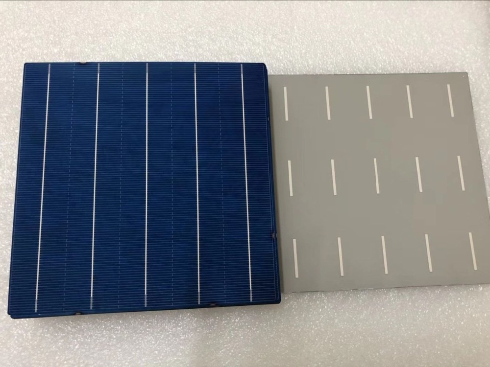 10Pcs 156.75MM DIY Polycrystalline Solar Panel Battery Cell 6x6 China Cheap Prices
