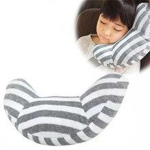 Appui-tête pour enfants ceinture de sécurité épaulettes amovible enfant poussette voiture sommeil oreiller ceinture de sécurité coussin coussin appui-tête