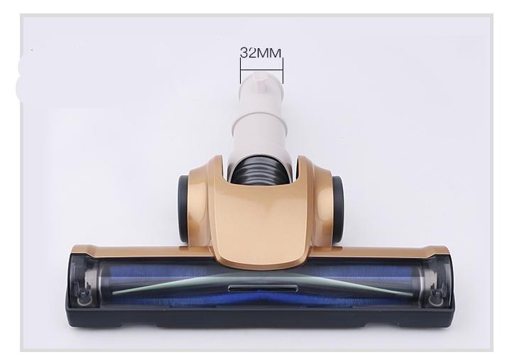 32 مللي متر توربو فرشاة ممسحة الكلمة إعصار فراغ الكلمة فرشاة العالمي فوهة نظافة أدوات الكلمة نظافة اتصال