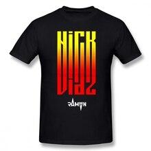 Camiseta de manga corta de algodón de tamaño grande para hombre de Nate Diaz