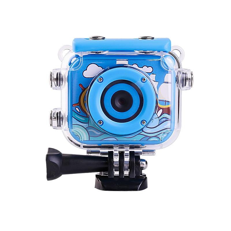 "2 ""Pantalla LCD niños acción Cámara deporte Cam para esquiar nadar Go impermeable 30M Pro Mini cámara DV Video grabadora regalo de cumpleaños"