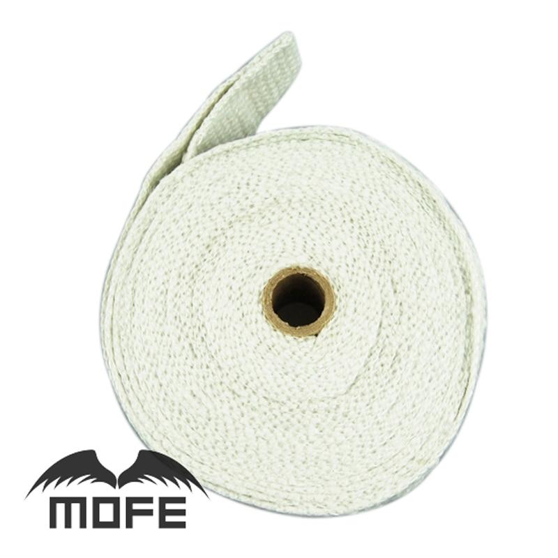 Mofe car motorcycle diagnostic-tool 10PCS Length: 10m x5cm Ceramic Fiber Heater Exhaust head Wrap pipe fast shipping