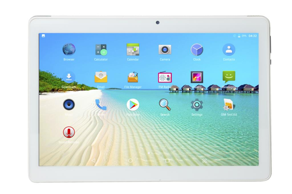 SIHAWO 10.1 Inch Dual SIM 4G Phone Call OTG 10 Core 8GB RAM 64GB ROM Android 8.0 Tablet pc FM WiFi Bluetooth GPS Tablet Tablets enlarge