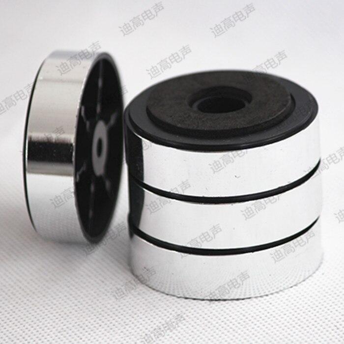 Altavoz amplificador cd dvd máquina muebles alfombra de descarga plástico esponja bloodstins mat 47 15mm plata