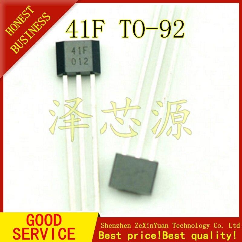 100 Uds SS41 SS41F TO3 SENSOR SS efecto HALL BIPOLAR nuevo de buena calidad