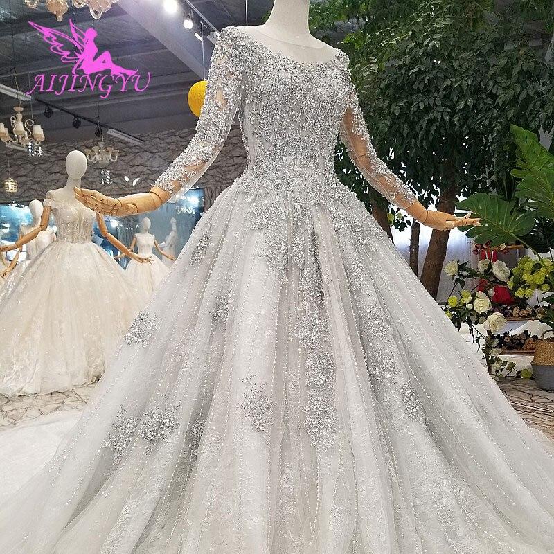 AIJINGYU/бальное платье большого размера для свадьбы