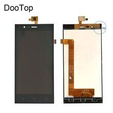 Estuche cobertor rígido para Highscreen Boost 3 Pro Boost 3 SE Boost 3 SE Pro Boost 3 pantalla LCD + Digitalizador de pantalla táctil Color negro con 3m pegatinas