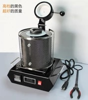 jewelry toolsnew type black color electric melting furnace gold and silver melting furnace with capacity 2kgsmelting machineg